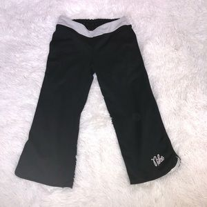 Nike Black Workout Capris Size 14
